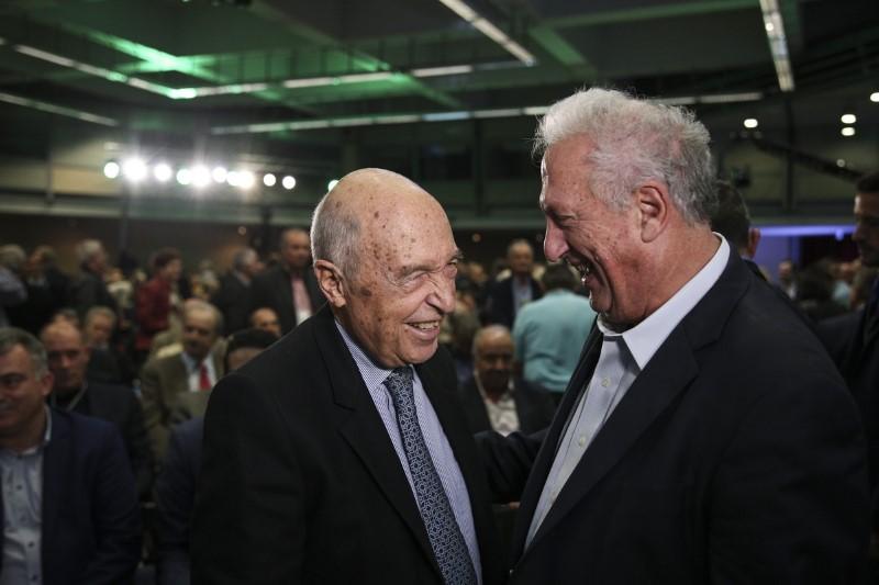 Ο Κώστας Σημίτης και ο Κώστας Σκανδαλίδης