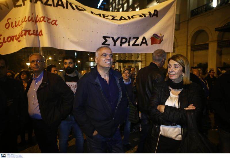 O Πάνος Σκουρλέτης, μαζί με την Τασία Χριστοδουλοπούλου / Φωτογραφία: INTIME NEWS