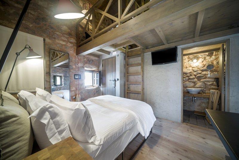 Υπνοδωμάτιο με κρεβάτι