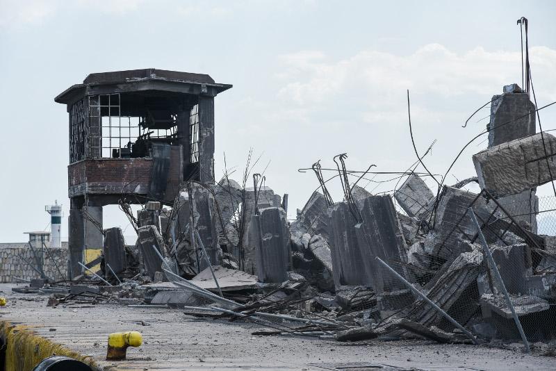 Το κτίριο δεν χρησιμοποιούνταν και ευτυχώς δεν υπήρξε κανείς τραυματισμός