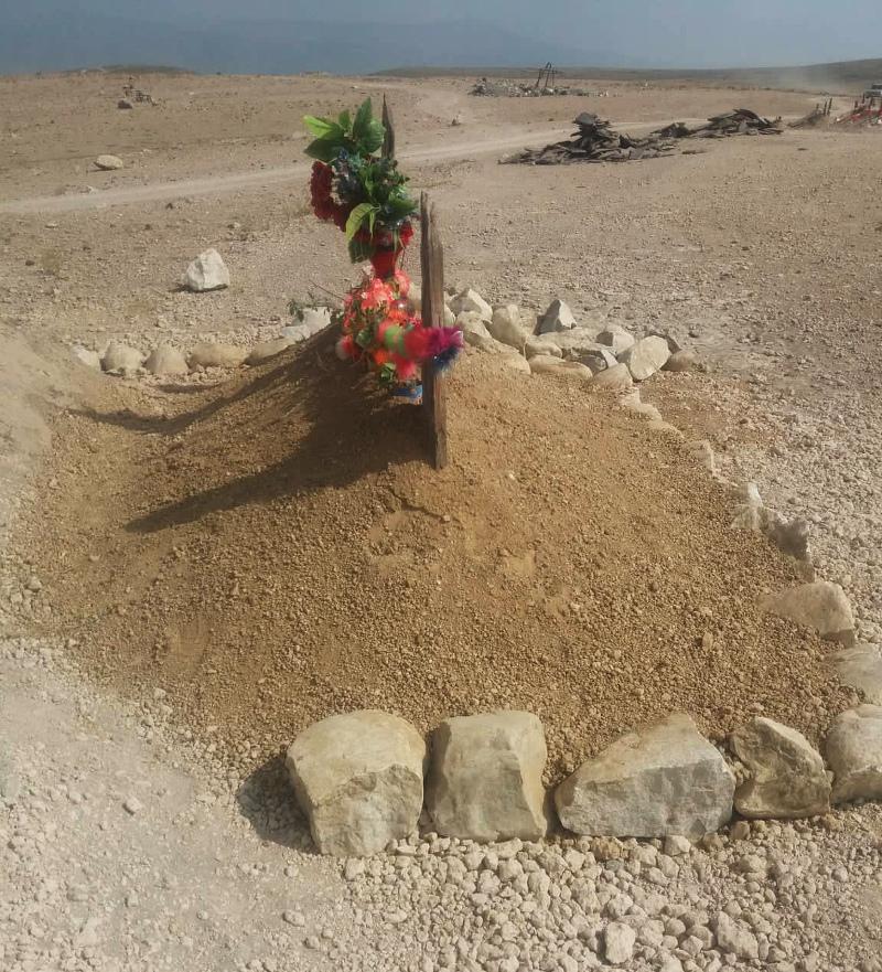 Ο τάφος του διοικητή Ζαρκάουι στο Khogyani του Αφγανιστάν.