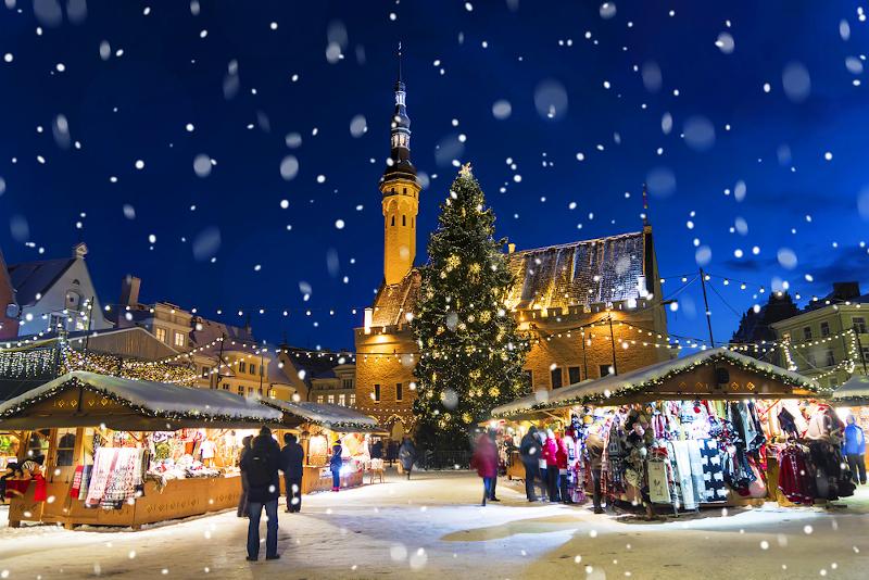 Χριστουγεννιάτικη αγορά στο Ταλίν