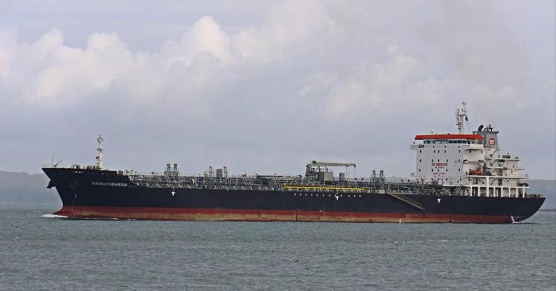 Το τάνκερ Front Altair στη θάλασσα
