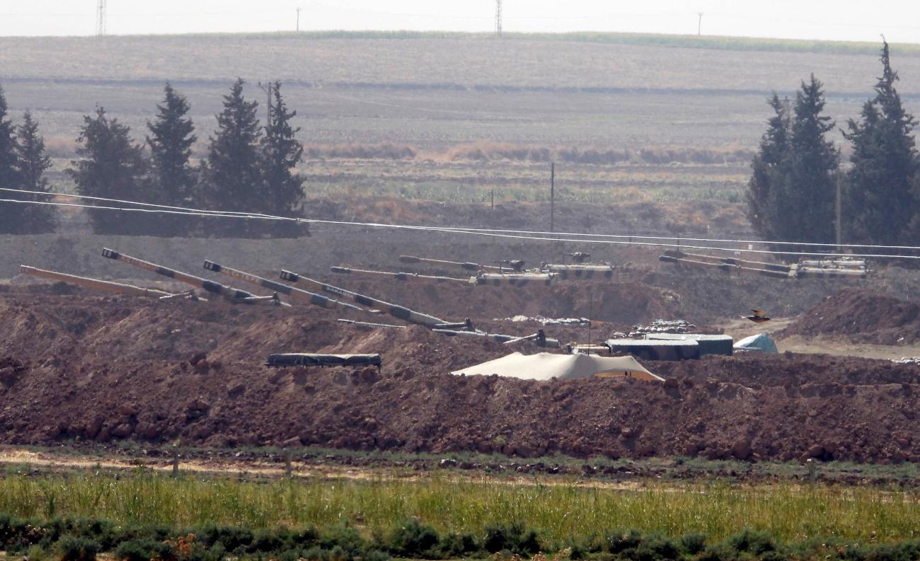 Τουρκικά τανκ σε θέση μάχης
