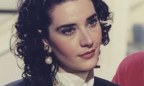 Tania Kapsali as Tatiana Drakou in the first years of Lampias.