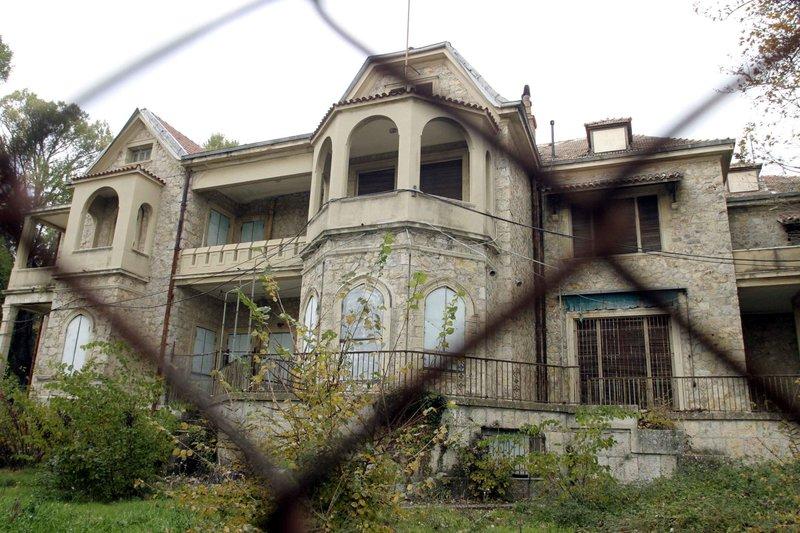 Το οίκημα των πρώην βασιλικών κτημάτων στο Τατόι
