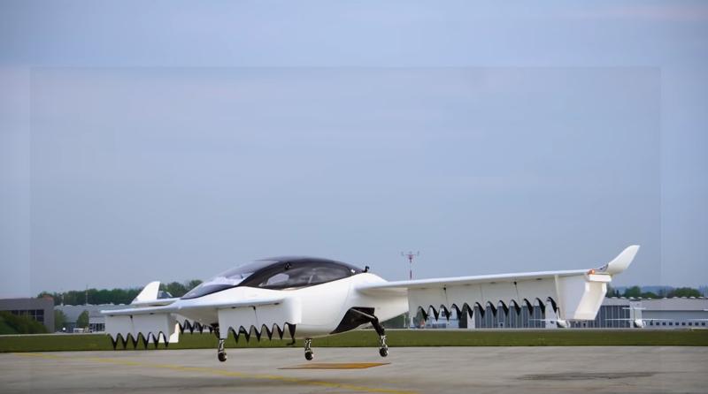 Το ιπτάμενο ταξί της Lilium