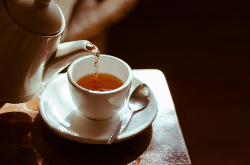 φλιτζάνι με τσάι