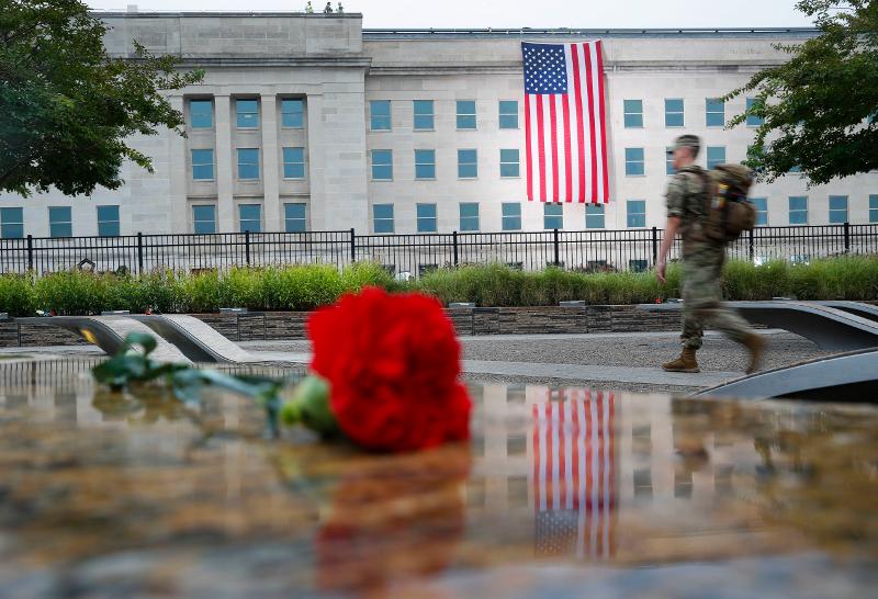 Τελετή εις μνήμην των θυμάτων της 11ης Σεπτεμβρίου / Φωτογραφία: AP