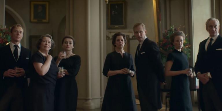 Στιγμιότυπο από τον τρίτο κύκλο της σειράς «The Crown»