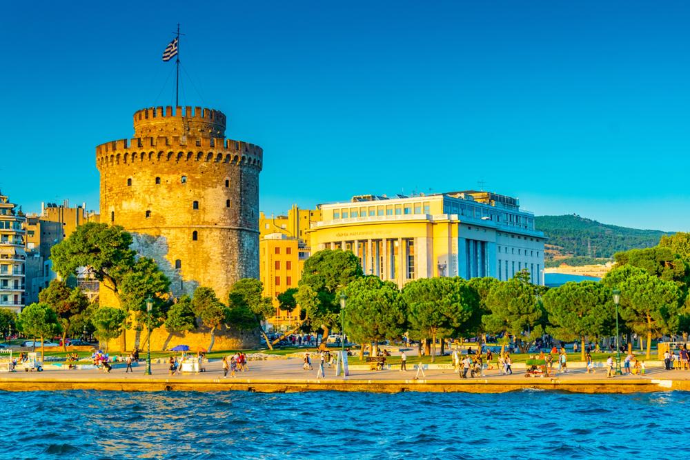 O Λευκός Πύργος στην  Θεσσαλονίκη