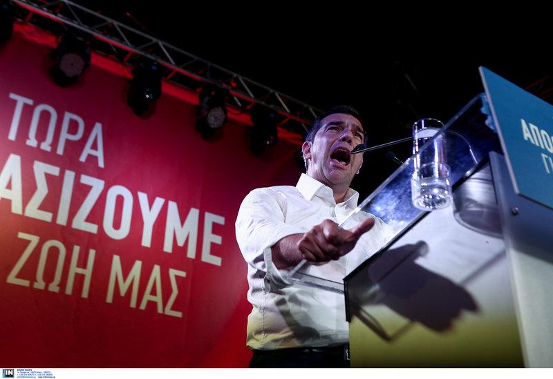 Τσίπρας: Δεν θα αφήσουμε ποτέ μόνο του τον Κυπριακό λαό σε όσους απειλούν την κυριαρχία του