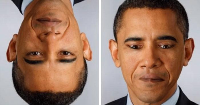 Το πρόσωπο του Μπαράκ Ομπάμα