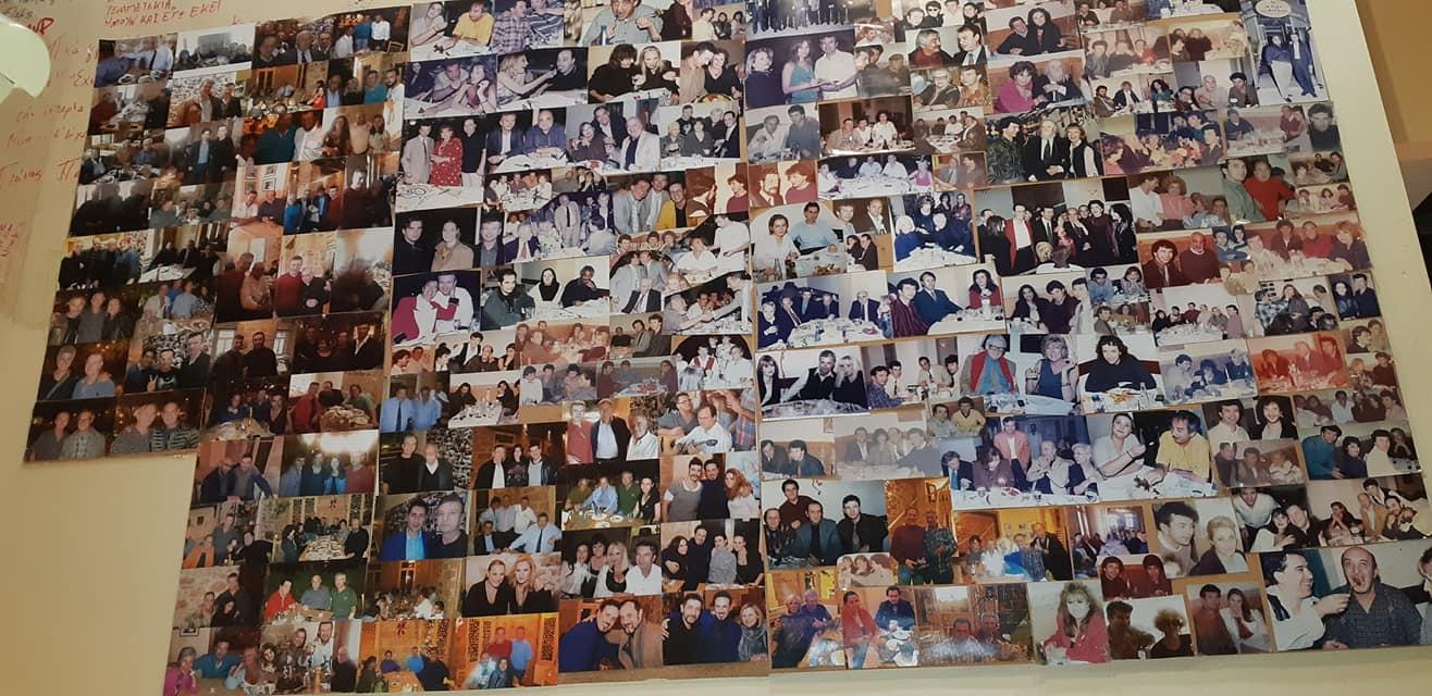 Στο Αυγό του Κόκκορα, σήμερα, στο Μεταξουργείο φιλοξενείται ένα κολάζ φωτογραφιών από τις θρυλικές εκείνες νύχτες στην Κυψέλη