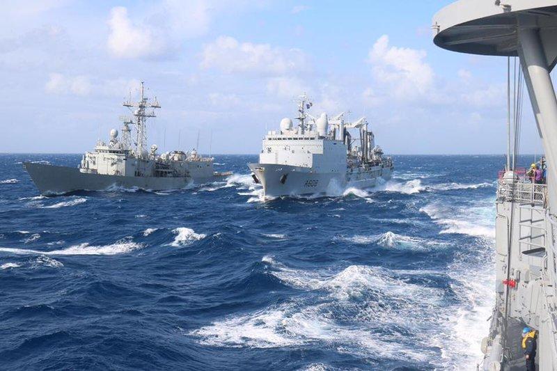 Πολεμικά πλοία της Τουρκίας σε παλαιότερη πολεμική άσκηση