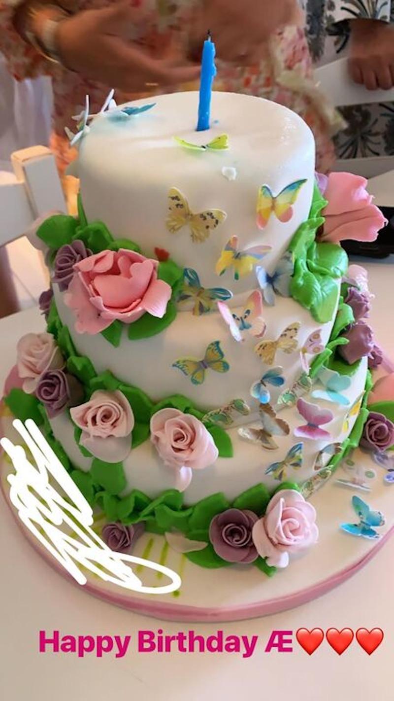 Η τούρτα γενεθλίων που δημοσίευσε ο Άγγελος Λάτσιος