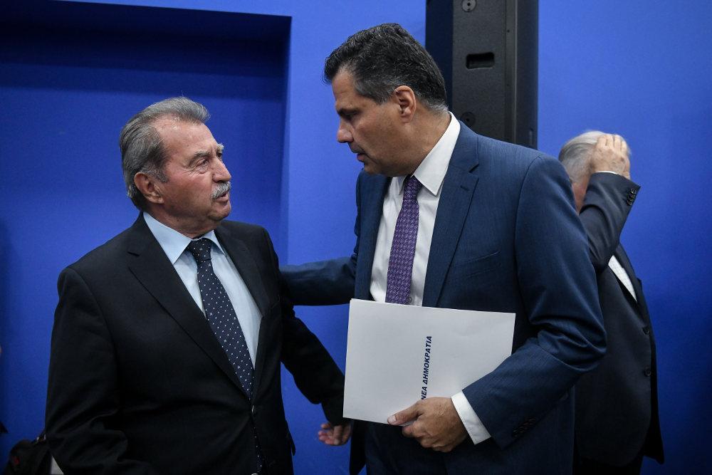 Ο νέος γραμματέας της ΝΔ με τον Γιάννη Τραγάκη