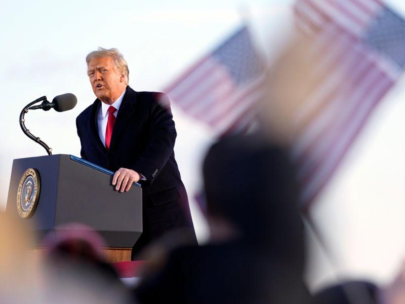 «Θα επιστρέψουμε», είπε ο Ντόλναντ Τραμπ στην τελευταία ομιλία ως πρόεδρος των ΗΠΑ
