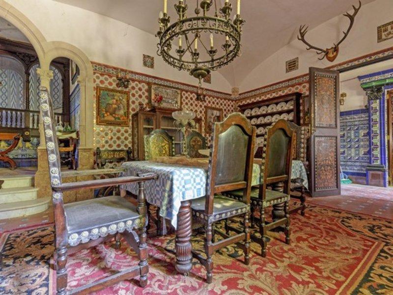 Η τραπεζαρία του κάστρου