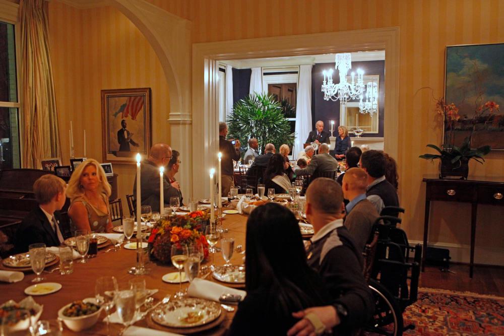 Εικόνα από το εσωτερικό της οικίας των αντιπροέδρων