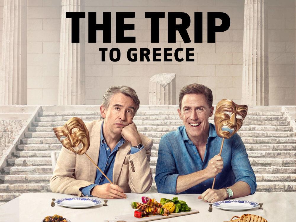 Οι  Στιβ Κούγκαν και Ρομπ Μπράιντον στην ταινία «Το Ταξίδι στην Ελλάδα»