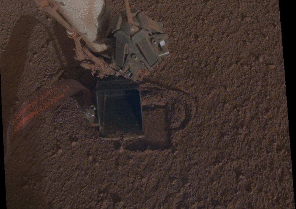 Το τρυπάνι στον Άρη που πραγματοποιεί έρευνες στον κόκκινο πλανήτη