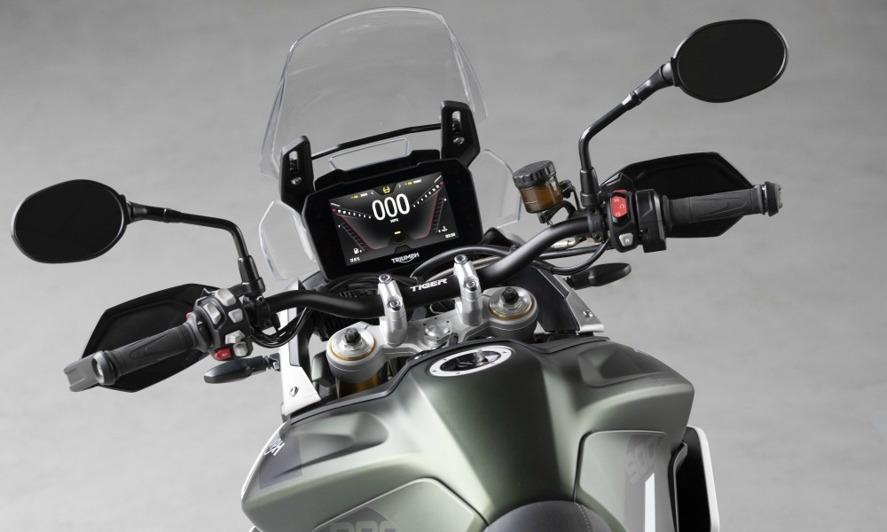 H Triumph παρουσιάζει τη νέα Tiger 900