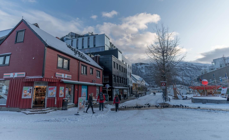 χωριό χιόνι