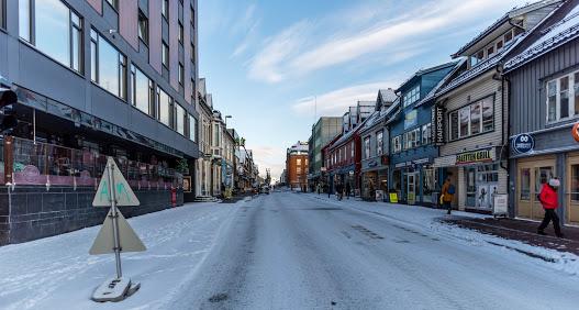 πόλη χιόνι