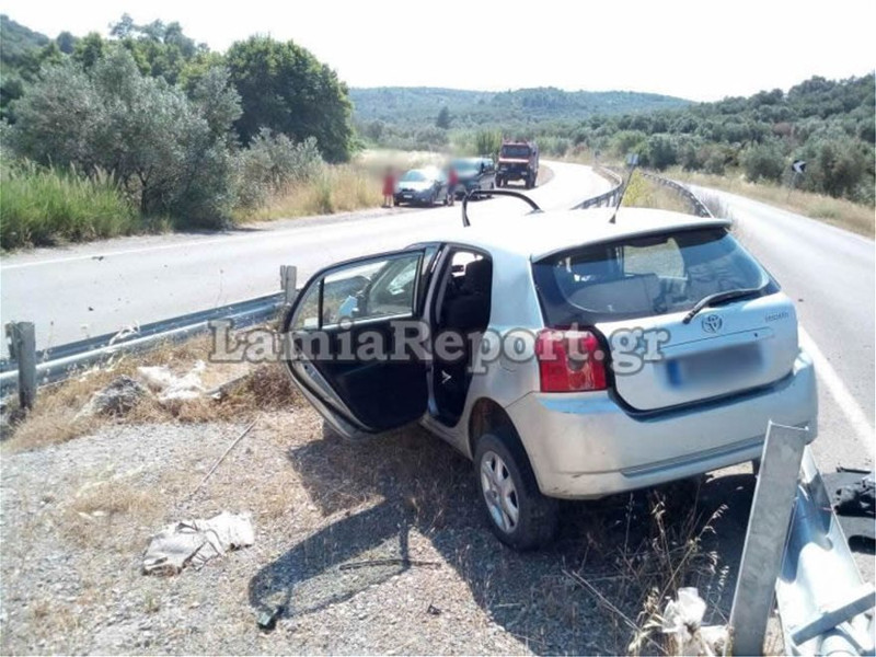 Θανατηφόρο τροχαίο στη Φθιώτιδα / Φωτογραφία: lamiareport.gr