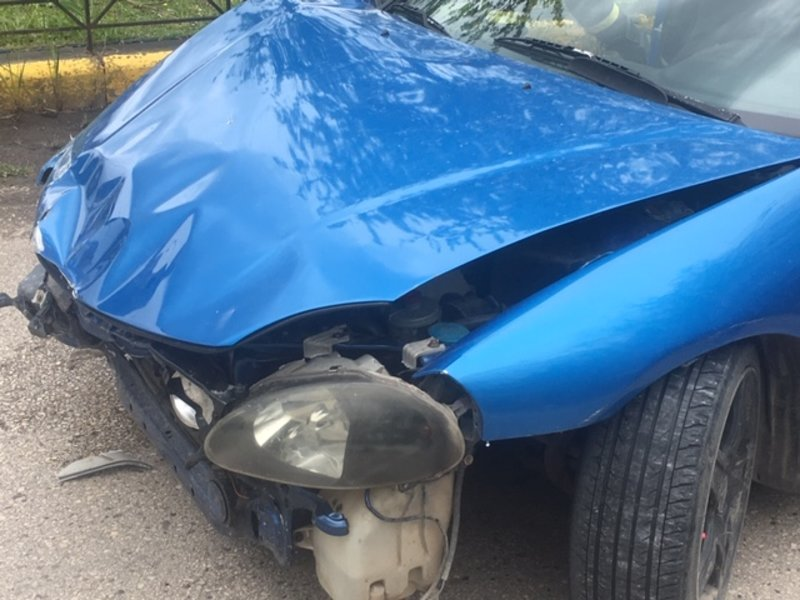 Σοκαριστική η εικόνα του αυτοκινήτου μετά το τροχαίο