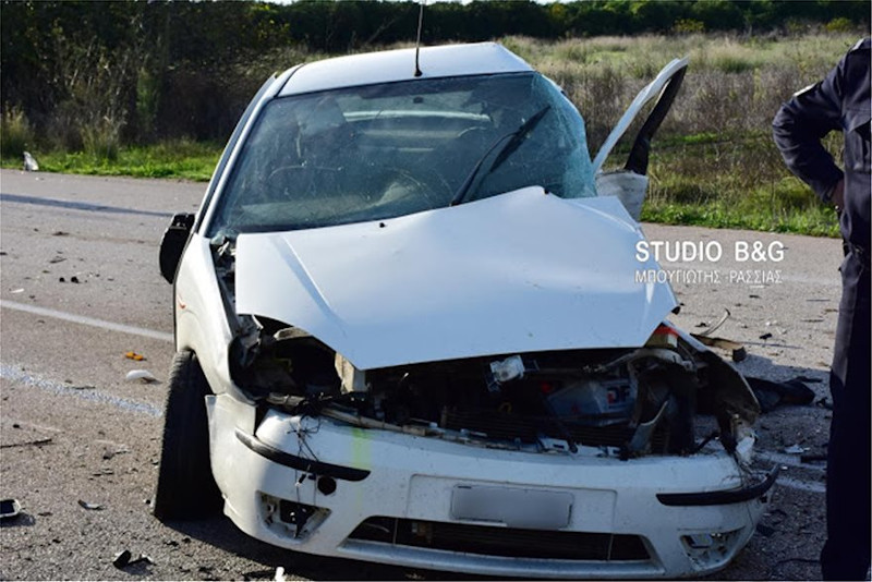o ΙΧ που οδηγούσε το θύμα του τροχαίου καταστράφηκε ολοσχερώς