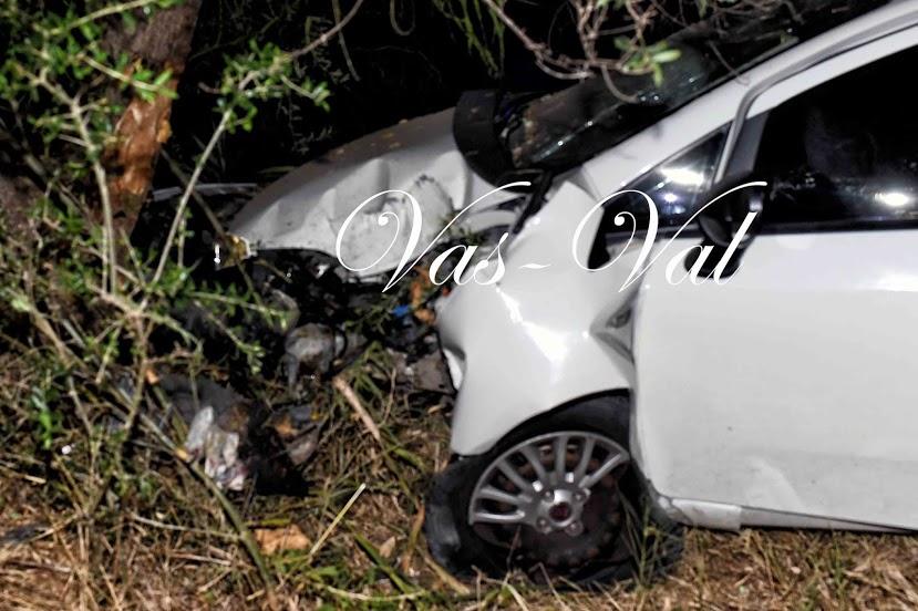 Κόρινθος: Σοβαρό τροχαίο στα Εξαμίλια με έναν τραυματία
