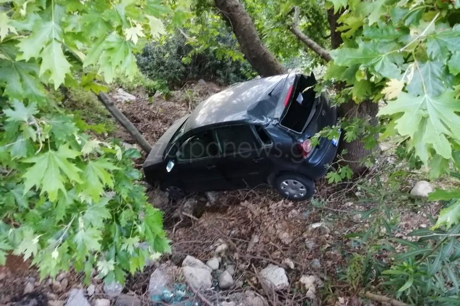 Τροχαίο ατύχημα στην Κρήτη