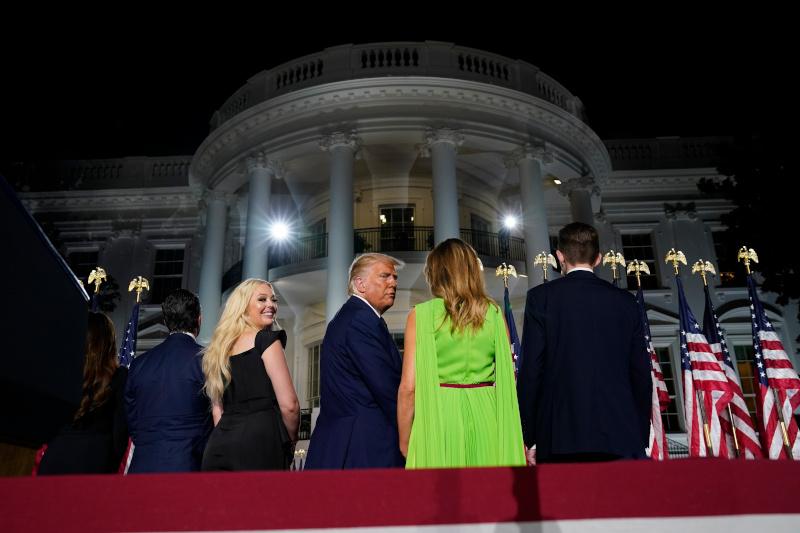 Η οικογένεια Τραμπ στον Λευκό Οίκο