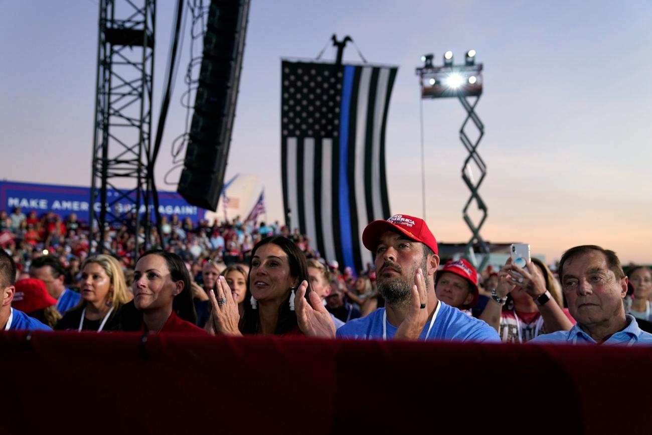 Υποστηρικτές του Τραμπ στην Φλόριντα