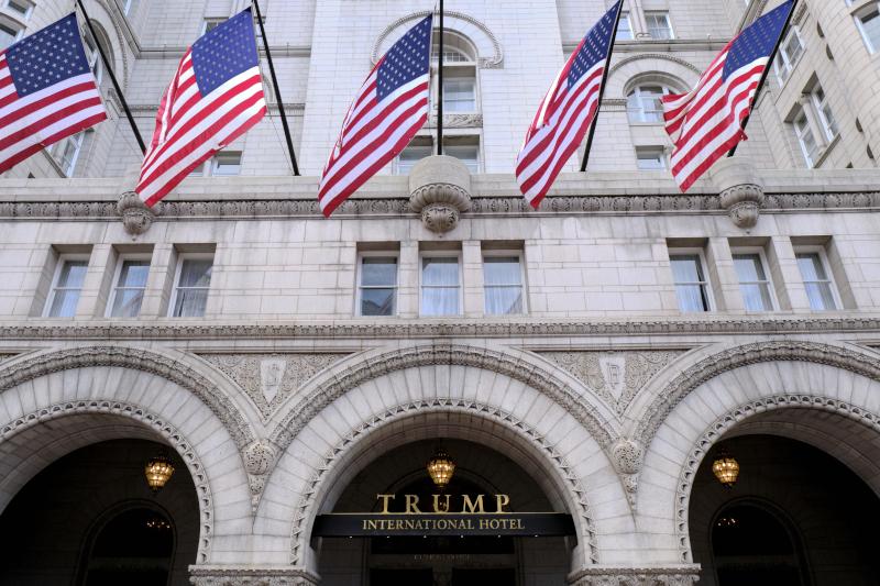Το ξενοδοχείο του Τραμπ στην Ουάσινγκτον