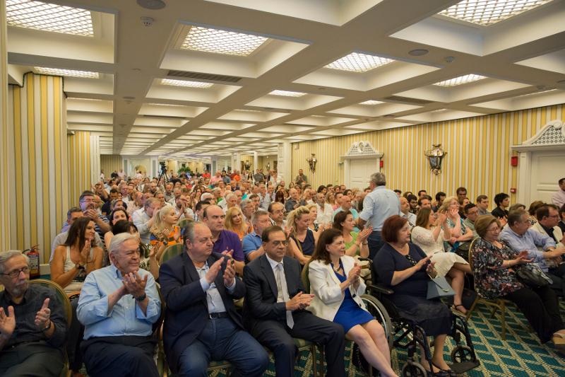 Κεντρική προεκλογική εκδήλωση του Δημήτρη Τσιόδρα