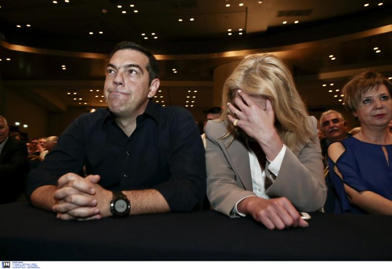 Πολύ κατηφής ο Αλέξης Τσίπρας στην ΚΕ του ΣΥΡΙΖΑ