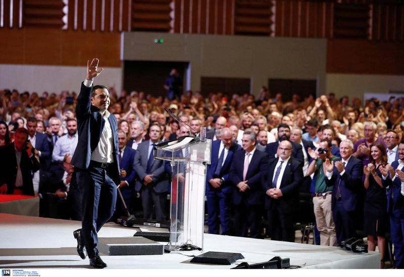 Ο Αλέξης Τσίπρας στη ΔΕΘ 2019