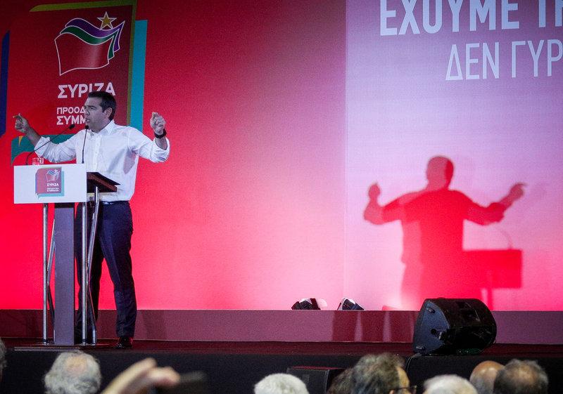 Μήνυμα «σε όσους κάνουν τους καουμπόιδες στη Μεσόγειο» έστειλε ο Ελληνας πρωθυπουργός