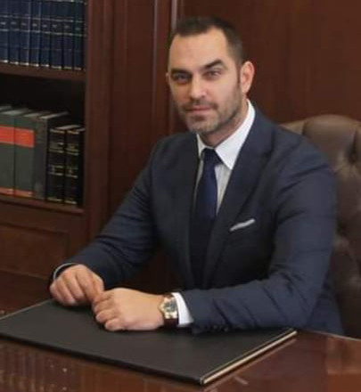 Ο δικηγόρος Παναγιώτης Τσόγκας