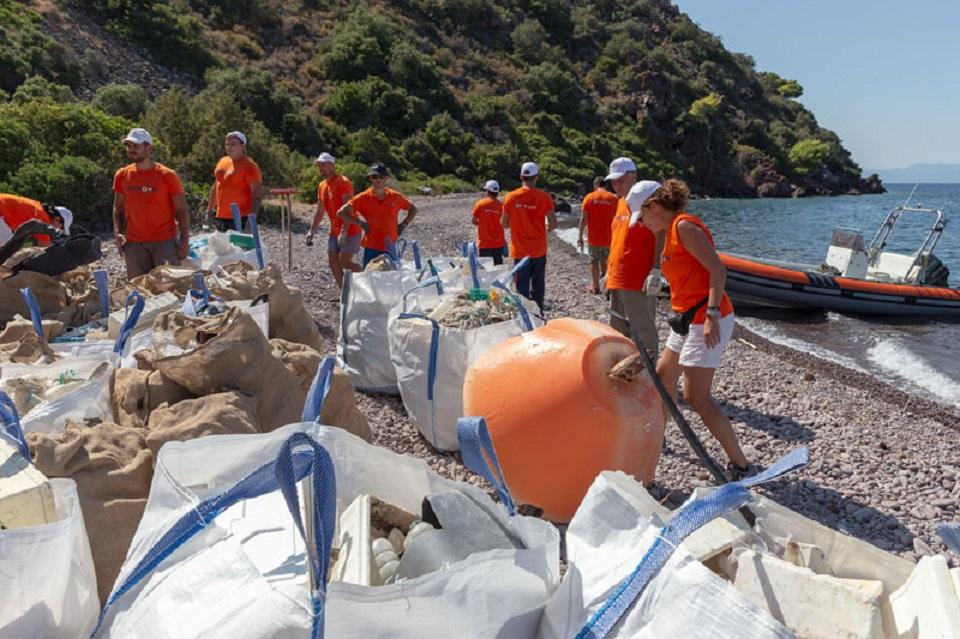σκουπίδια εθελοντές