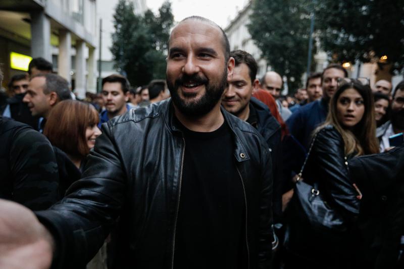 Ο Δημήτρης Τζανακόπουλος / Φωτογραφία: EUROKINISSI