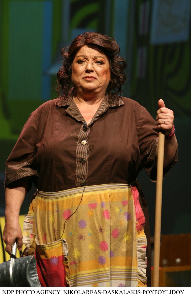 Η αείμνηστη ηθοποιός Τζέσυ Παπουτσή