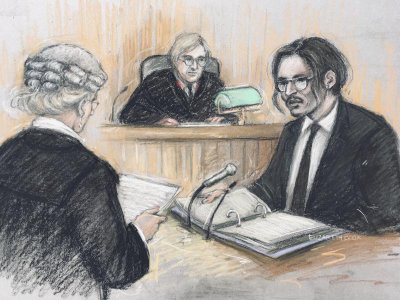Τζόνι Ντεπ δικαστήριο
