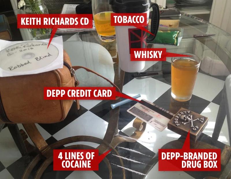 Τζόνι Ντεπ ποτά ναρκωτικά