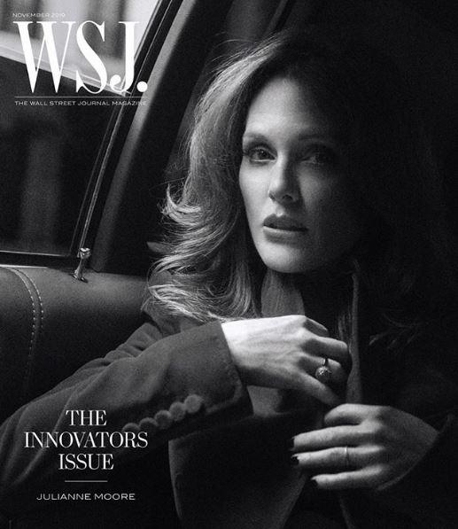 Η Τζούλιαν Μουρ στο εξώφυλλο του περιοδικού WSJ. Magazine
