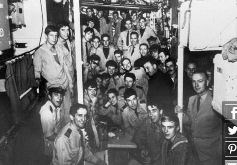 Το πλήρωμα του υποβρυχίου το 1965