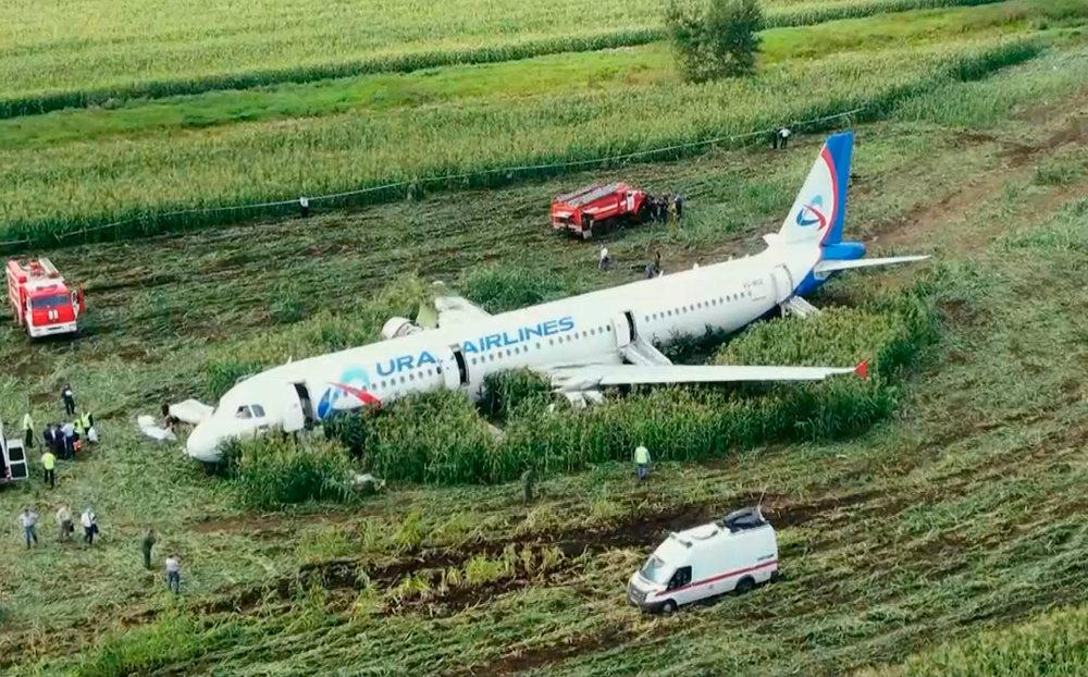 To Airbus πραγματοποίησε αναγκαστική προσγείωση λίγα λεπτά μετά την απογείωση από το αεροδρόμιο της Μόσχας